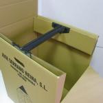 Caja armario con percha